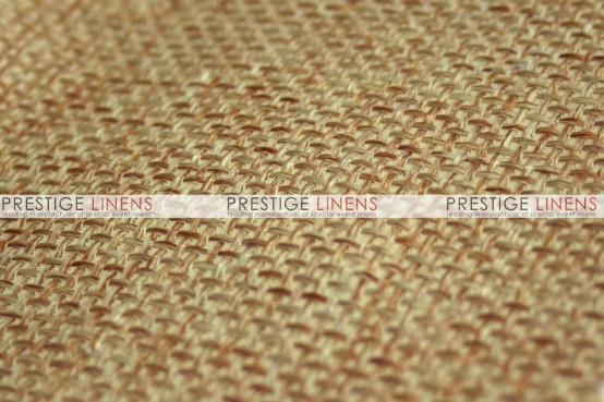 Jute Linen Table Linen - Gold