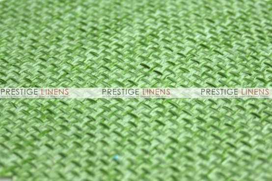 Jute Linen Table Linen - Lime