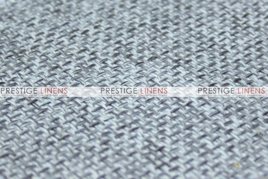 Jute Linen Table Linen - Silver