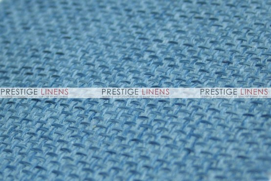 Jute Linen Table Linen - Skyblue