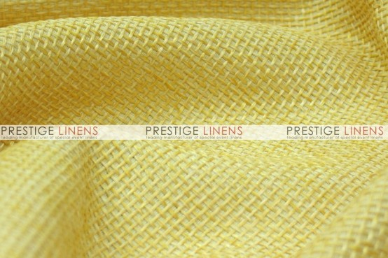 Jute Linen Table Linen - Sungold