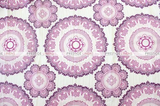 Kaleidoscope Table Linen  -  Orchid