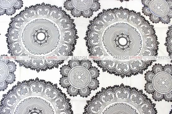 Kaleidoscope Table Linen  -  Pewter