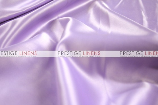 Lamour Matte Satin Table Linen - 1035 Lt Lavender