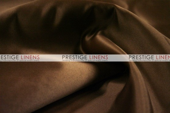 Lamour Matte Satin Table Linen - 333 Brown