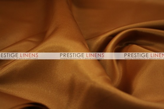 Lamour Matte Satin Table Linen - 336 Cinnamon