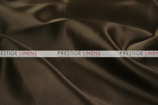 Lamour Matte Satin Table Linen - 348 Chocolate