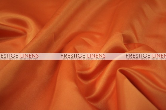 Lamour Matte Satin Table Linen - 431 Orange