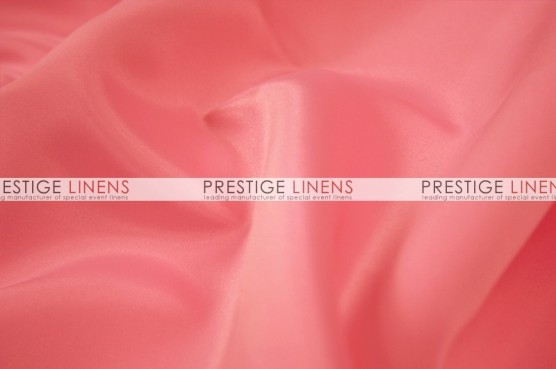 Lamour Matte Satin Table Linen - 444 Lt Coral