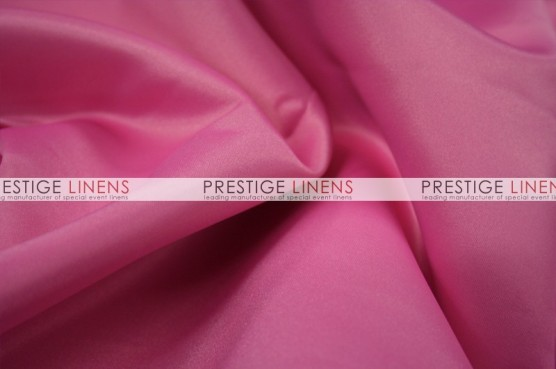 Lamour Matte Satin Table Linen - 540 Bubble Gum