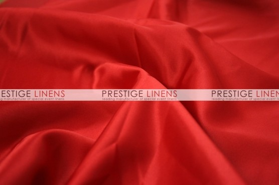 Lamour Matte Satin Table Linen - 626 Red