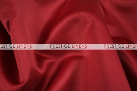 Lamour Matte Satin Table Linen - 627 Cranberry