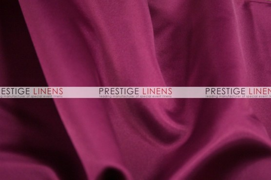 Lamour Matte Satin Table Linen - 646 Magenta