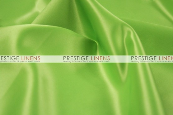 Lamour Matte Satin Table Linen - 737 Apple Green