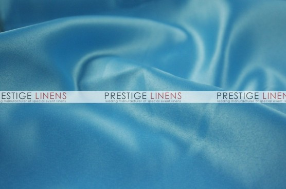 Lamour Matte Satin Table Linen - 927 Aqua