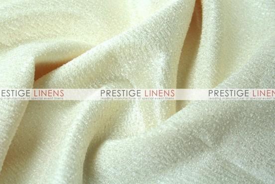 Luxury Textured Satin Table Linen - Ivory