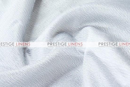 Luxury Textured Satin Table Linen - White