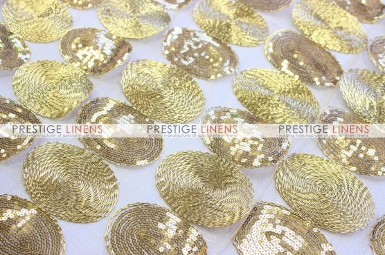 Maze Table Linen  -  Gold