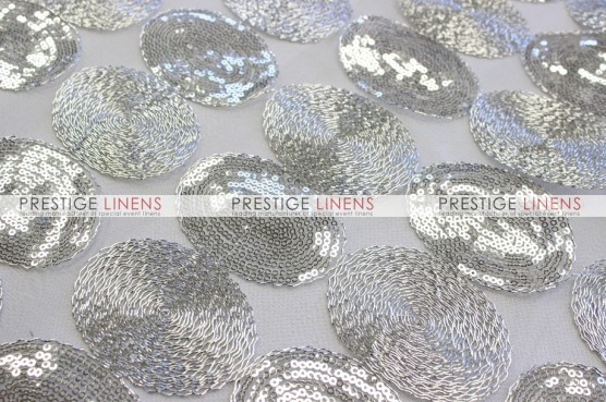 Maze Table Linen  -  Silver