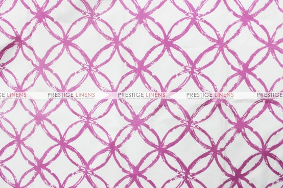Meghan Table Linen - Orchid