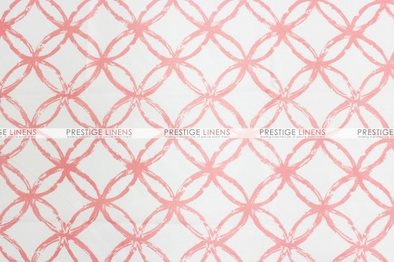 Meghan Table Linen - Salmon