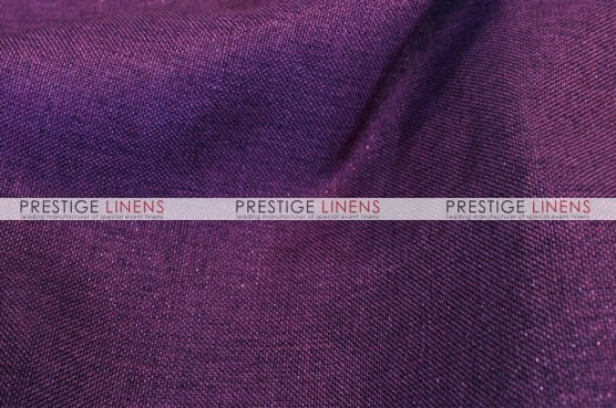 Metallic Linen Table Linen - Amethyst