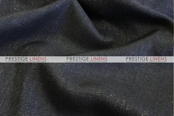 Metallic Linen Table Linen - Black