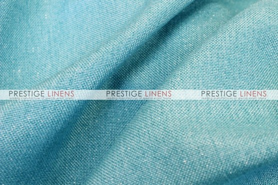 Metallic Linen Table Linen - Turquoise