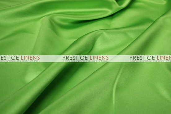 Mystique Satin (FR) Table Linen - Apple Green