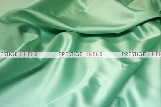 Mystique Satin (FR) Table Linen - Baja Aqua