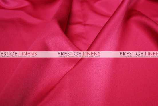 Mystique Satin (FR) Table Linen - Cerise