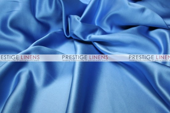 Mystique Satin (FR) Table Linen - Cornflower