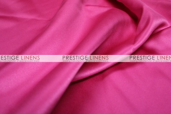 Mystique Satin (FR) Table Linen - Garden Fuchsia