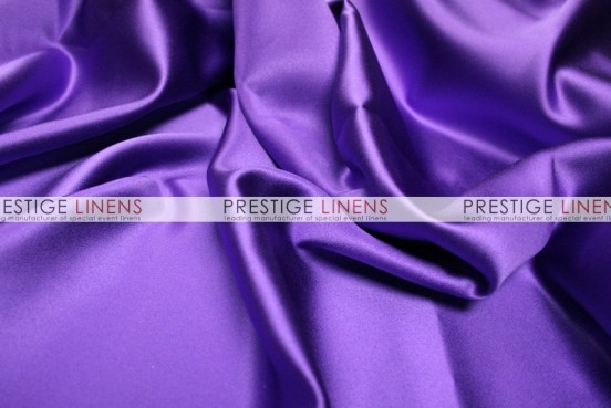 Mystique Satin (FR) Table Linen - Purple Majesty