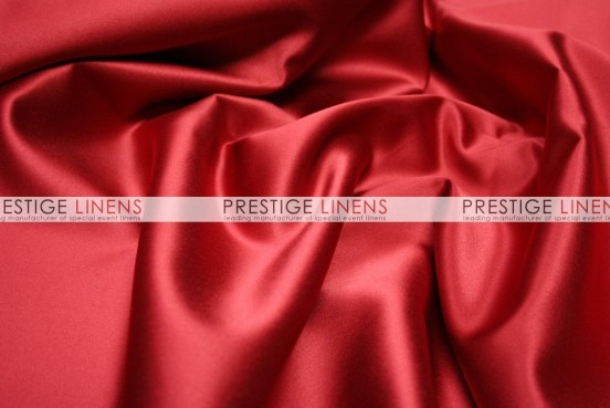 Mystique Satin (FR) Table Linen - Red