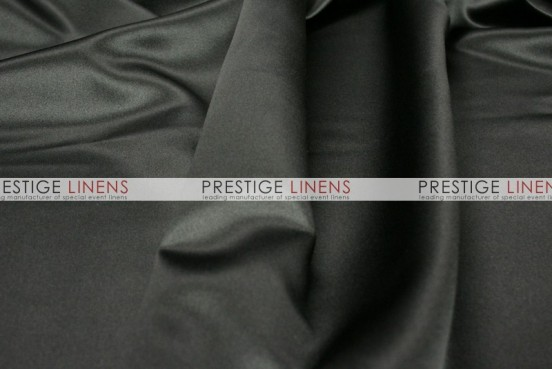 Mystique Satin (FR) Table Linen - Ultra Black