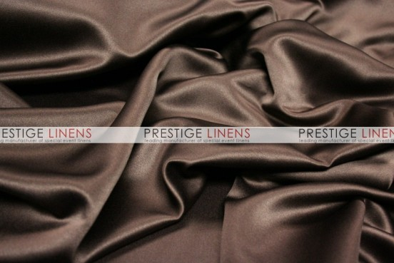Mystique Satin (FR) Table Linen - Ultra Brown
