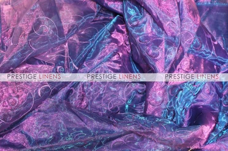 "Lavender Per Yard Floral Sequins Organza Dress Apparel Fabric 52/"" Wide"