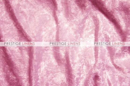 Panne Velvet Table Linen - Candy Pink