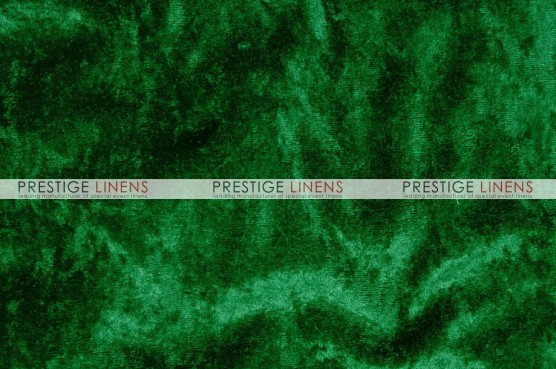Panne Velvet Table Linen - Flag Green