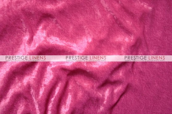 Panne Velvet Table Linen - Fuchsia