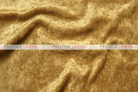 Panne Velvet Table Linen - Gold