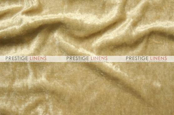 Panne Velvet Table Linen - Honey
