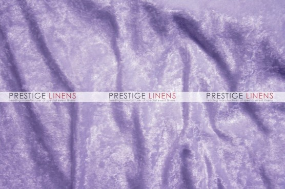 Panne Velvet Table Linen - Lavender