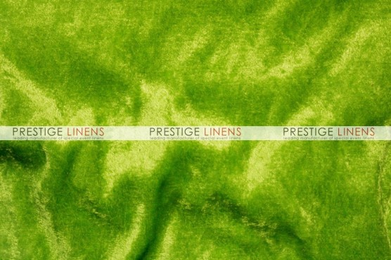 Panne Velvet Table Linen - Lime