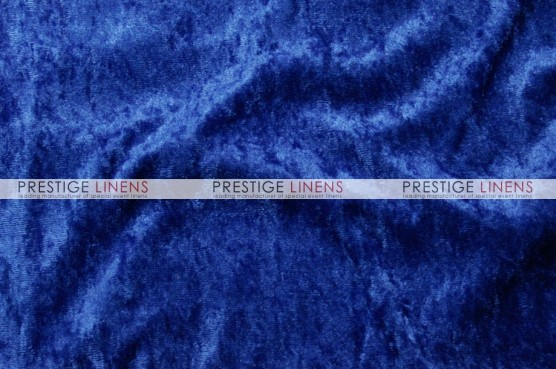 Panne Velvet Table Linen - Royal