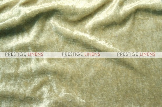 Panne Velvet Table Linen - Taupe