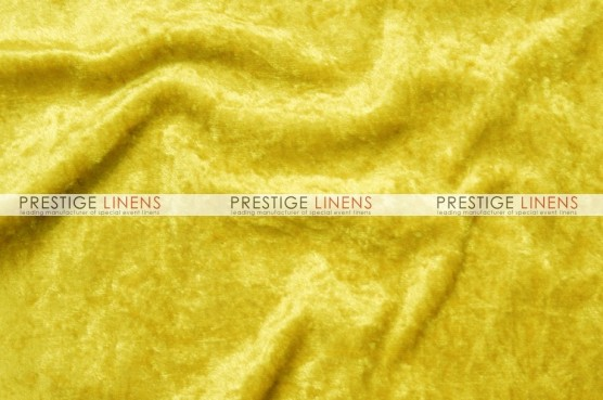 Panne Velvet Table Linen - Yellow