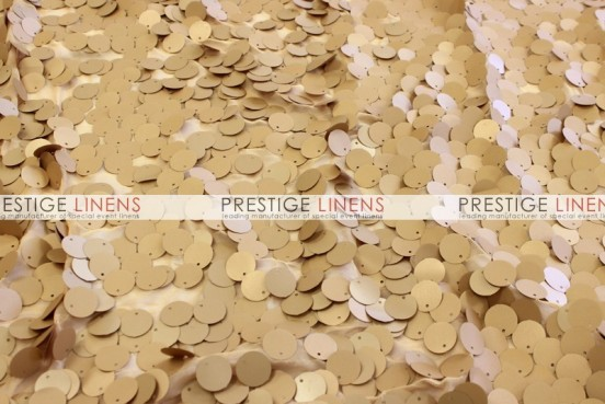 Payette Sequins (Dull) Table Linen - Gold (Dull)