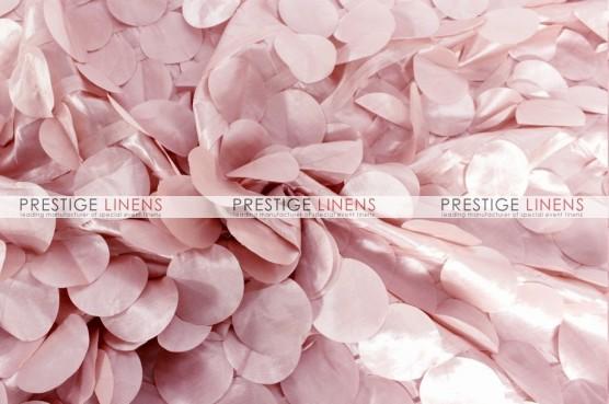 Petal Taffeta Table Linen - Blush Pink